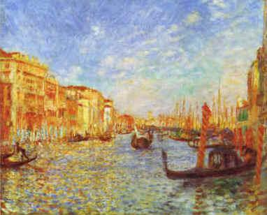 Pierre Renoir Grand Canal, Venice oil painting image