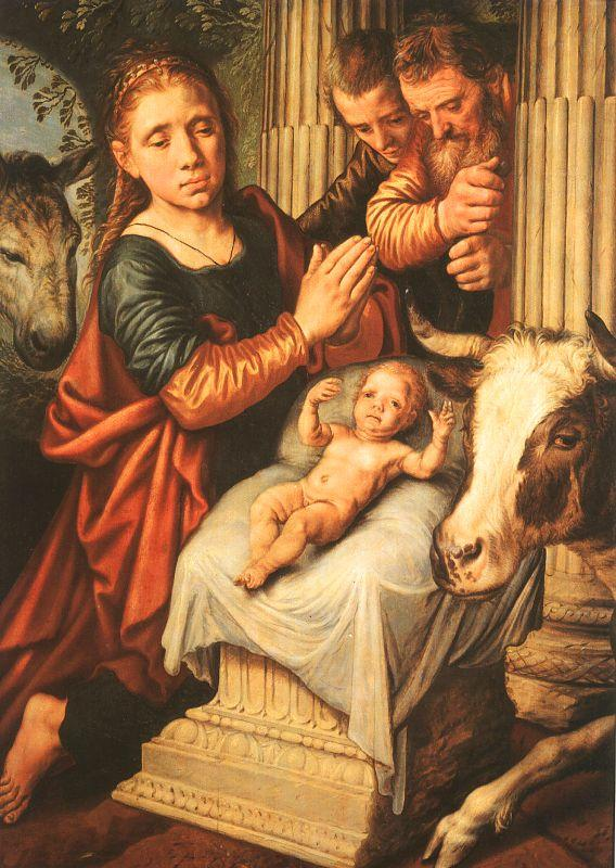 Pieter Aertsen The Adoration of the Shepherds