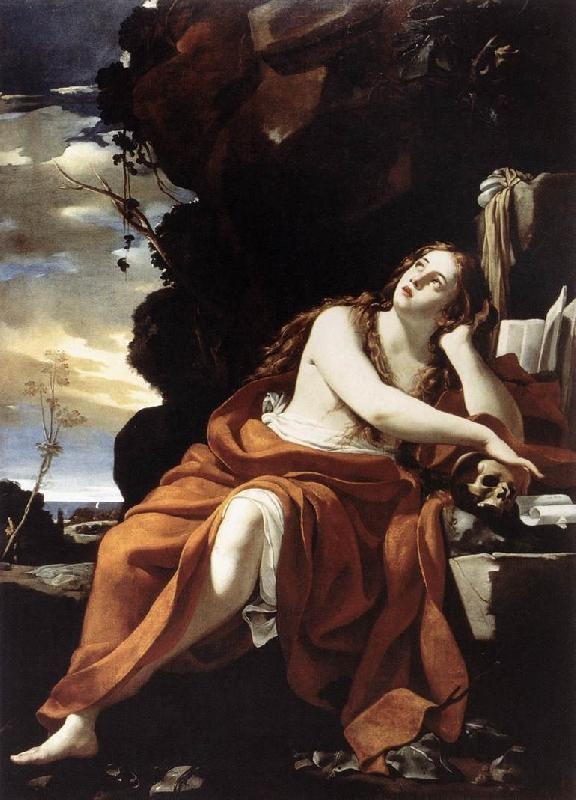 Simon Vouet St Mary Magdalene oil painting image
