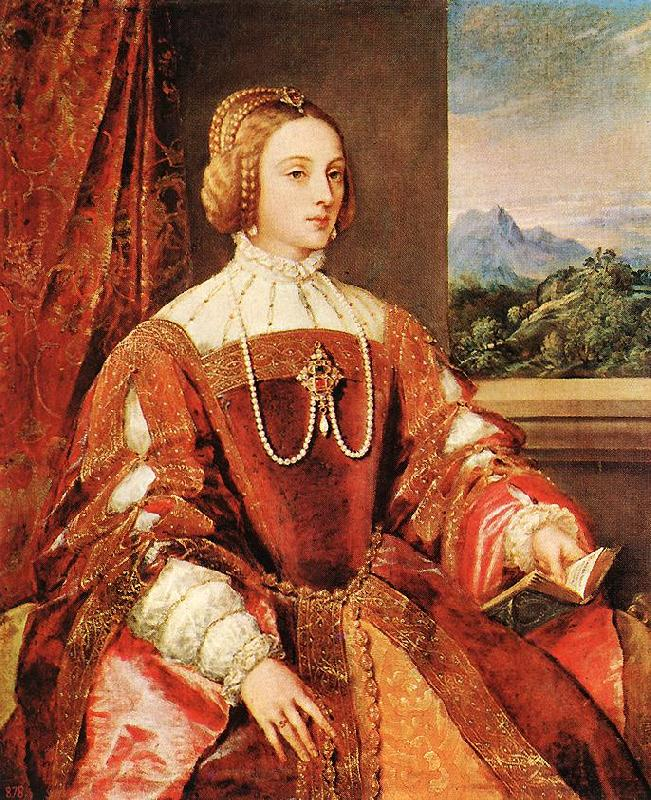TIZIANO Vecellio Empress Isabel of Portugal r oil painting image