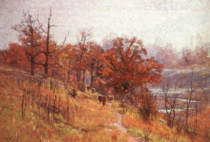 Theodore Clement Steele November s Harmony oil painting image