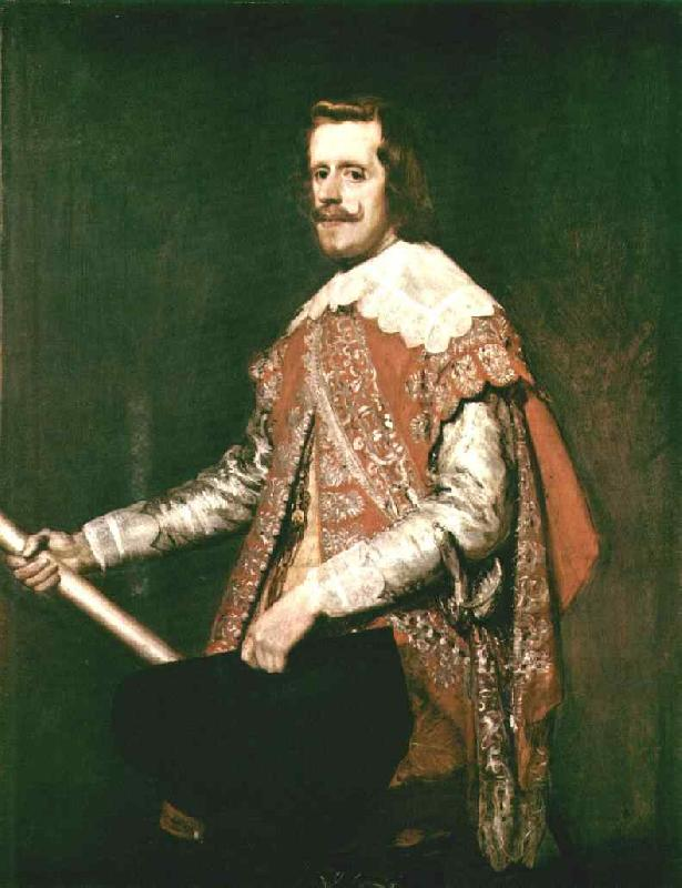 VELAZQUEZ, Diego Rodriguez de Silva y Phillip IV in Army Dress (The portrait of Fraga)  wet oil painting image