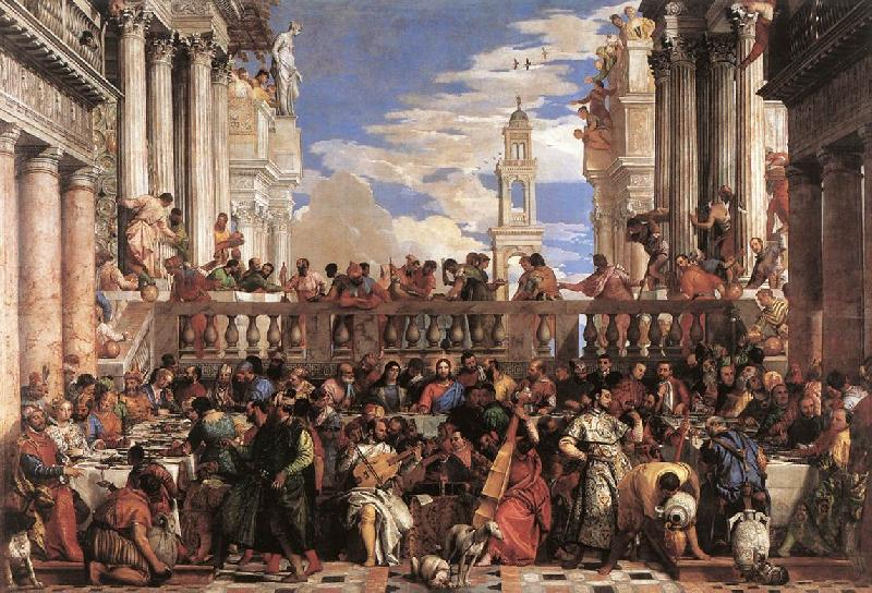 VERONESE (Paolo Caliari) The Marriage at Cana er oil painting image
