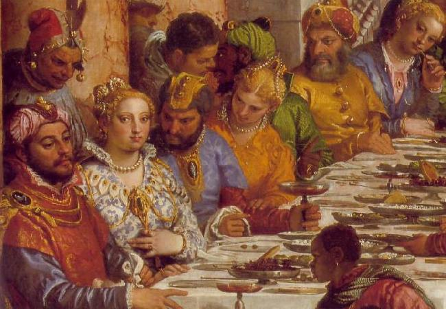 VERONESE (Paolo Caliari) The Marriage at Cana (detail) jh oil painting image