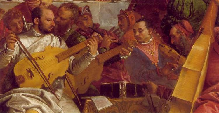 VERONESE (Paolo Caliari) The Marriage at Cana (detail) we