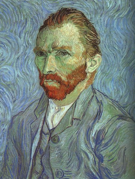 Vincent Van Gogh Self Portrait at Saint Remy oil painting image