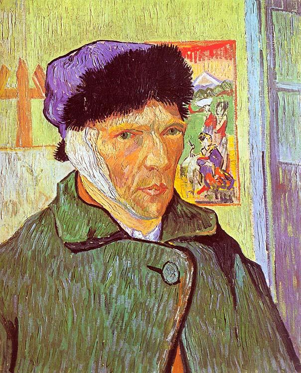 Vincent Van Gogh Self Portrait With Bandaged Ear oil painting image