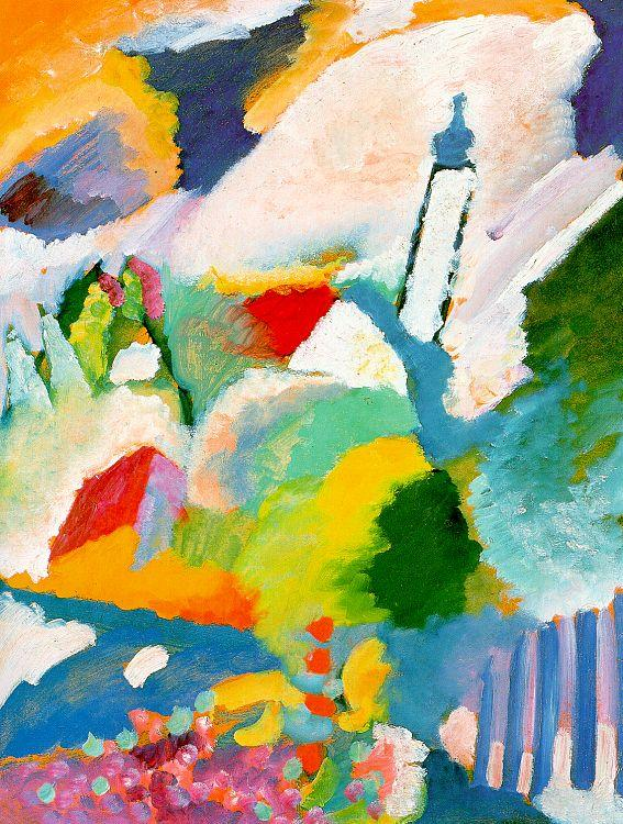 Wassily Kandinsky Church in Marnau