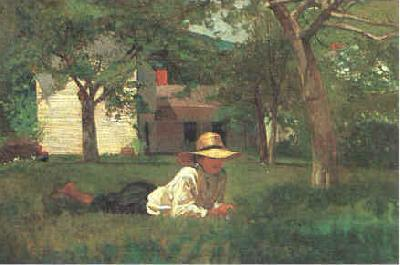 Winslow Homer Nooning oil painting image