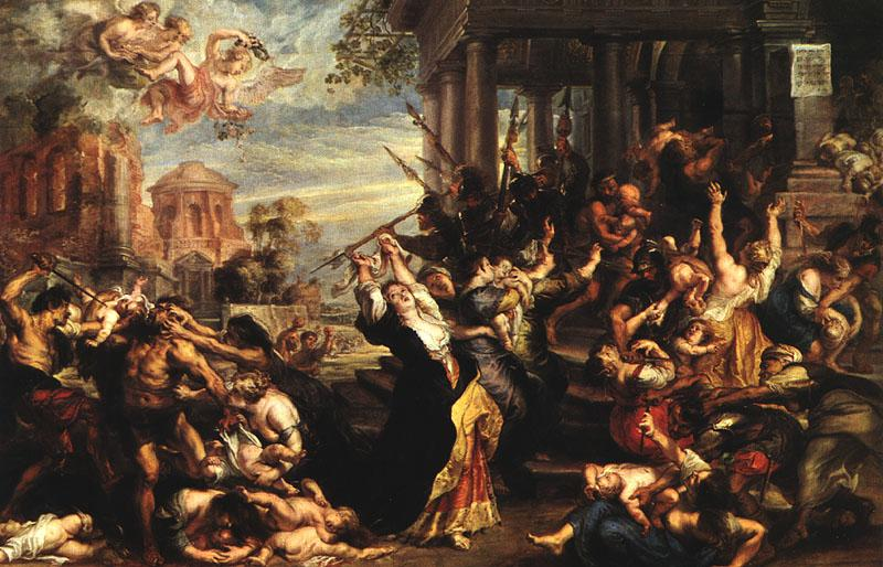 RUBENS, Pieter Pauwel Massacre of the Innocents AF oil painting image