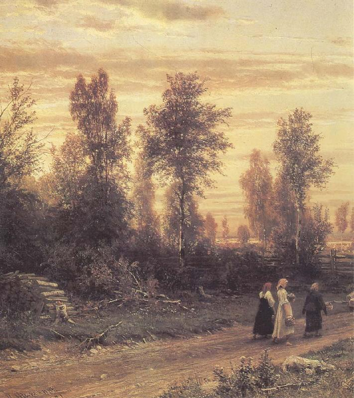 Ivan Shishkin Evening