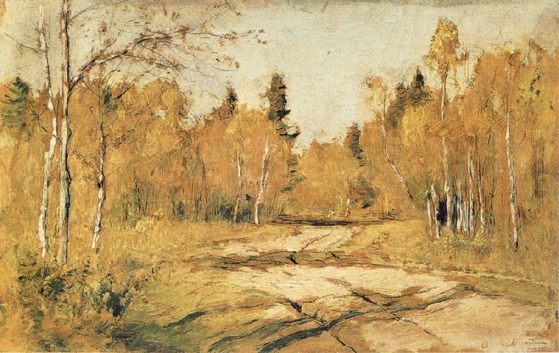 Levitan, Isaak The Sunshine of Autumn