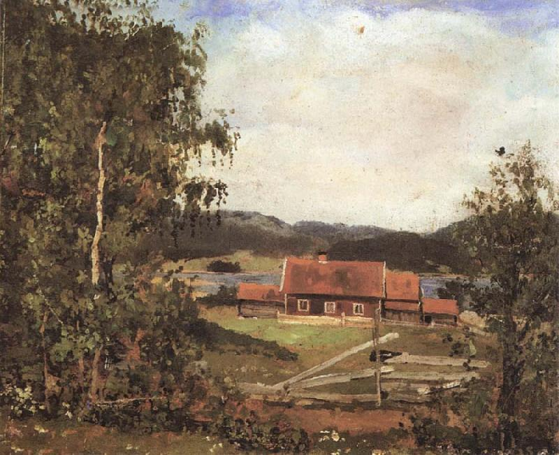 Edvard Munch The Landscape of Oslo