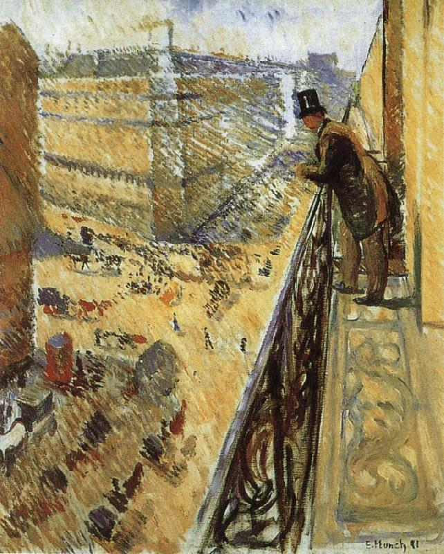 Edvard Munch Streetscape