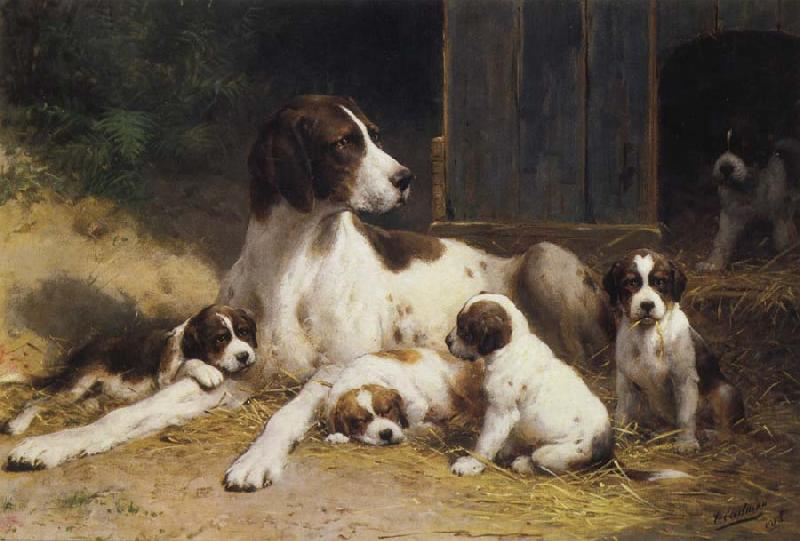 Old Master Painting Dog
