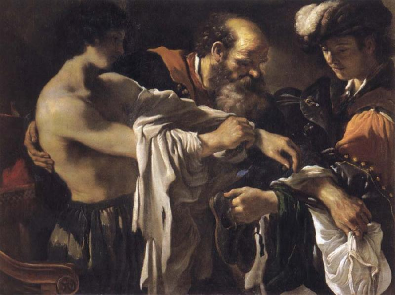 GUERCINO The return of the prodigal son oil painting image