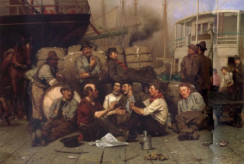John George Brown The Longshoremen-s Noon