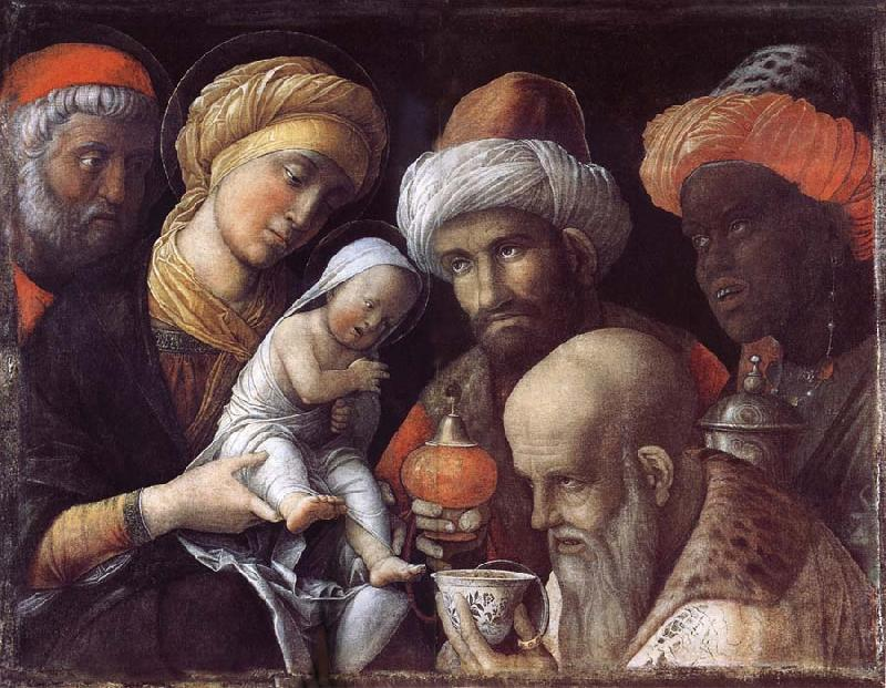 Andrea Mantegna The adoration of the Konige oil painting image