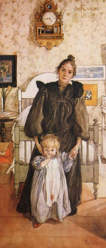 Carl Larsson Karin and Kersti