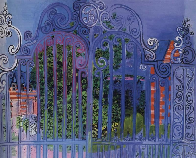 Dufy Raoul La Grille oil painting image