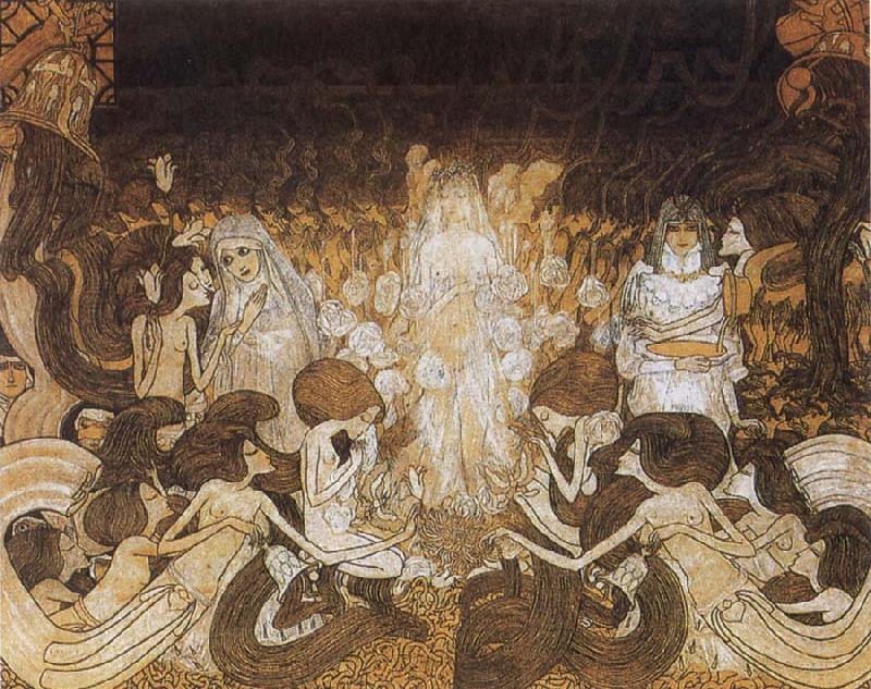 Jan Toorop The Three Brides