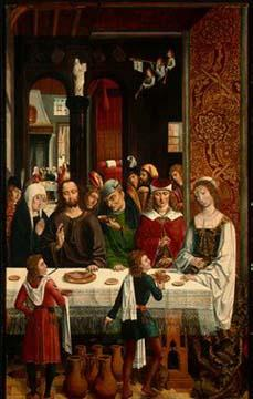 MASTER of the Catholic Kings The Marriage at Cana