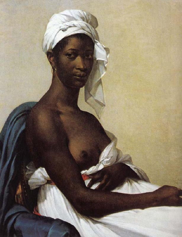 Marie-Guillemine Benoist Portrait of a black woman