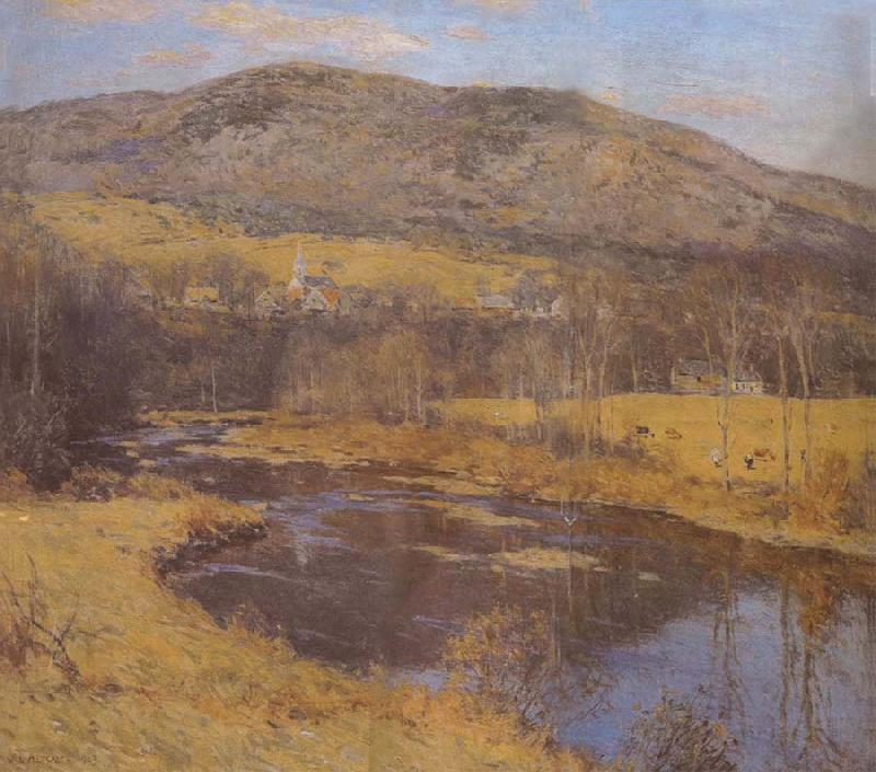 Metcalf, Willard Leroy The North Country oil painting image