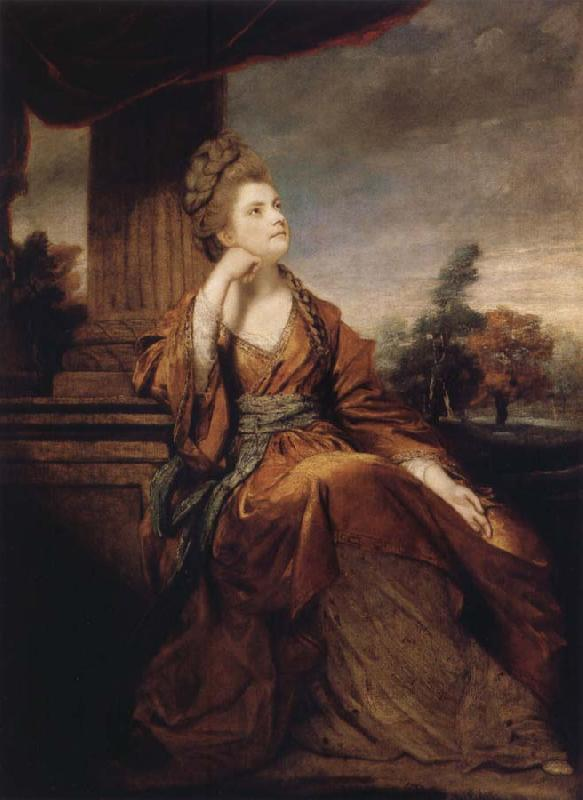 Sir Joshua Reynolds Maria,Duchess of Gloucester oil painting image
