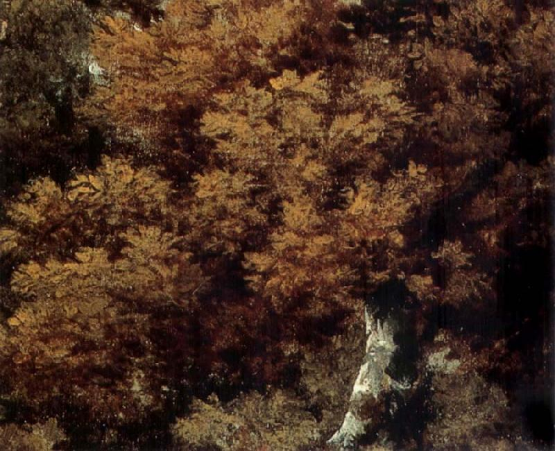 Thomas Gainsborough Detail of Landscape with a Peasant on a path