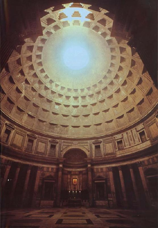 unknow artist The Pantheon oil painting image