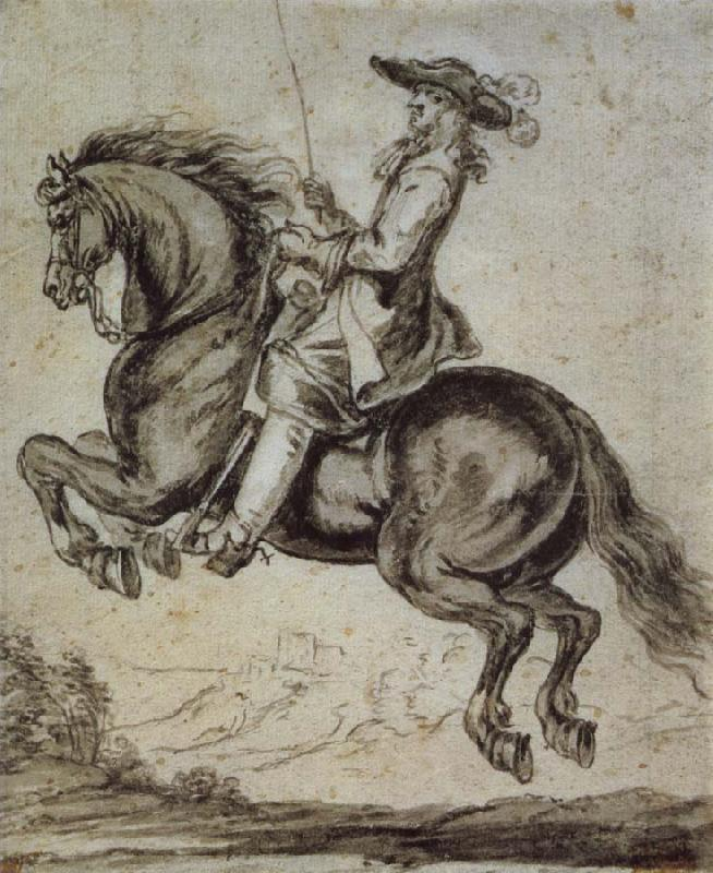 Abraham Jansz Van Diepenbeeck William duke of Newcastle, to horse