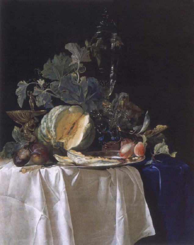 Aelst, Willem van Style life with fruits