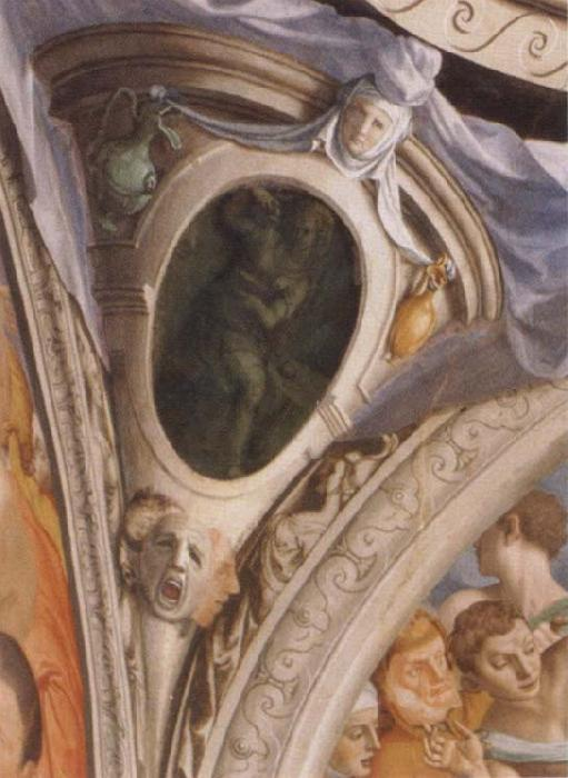 Agnolo Bronzino The composures frescos in the chapel of the Eleonora of Toledo