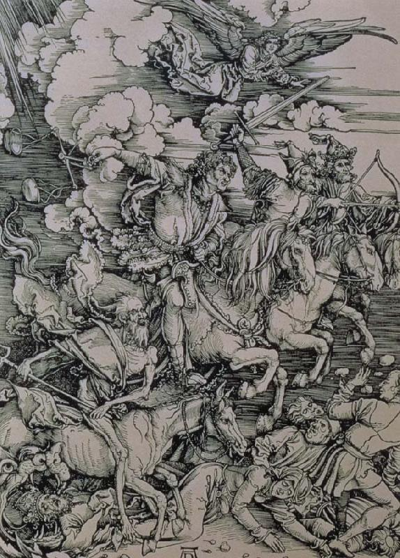 Albrecht Durer The four horseman