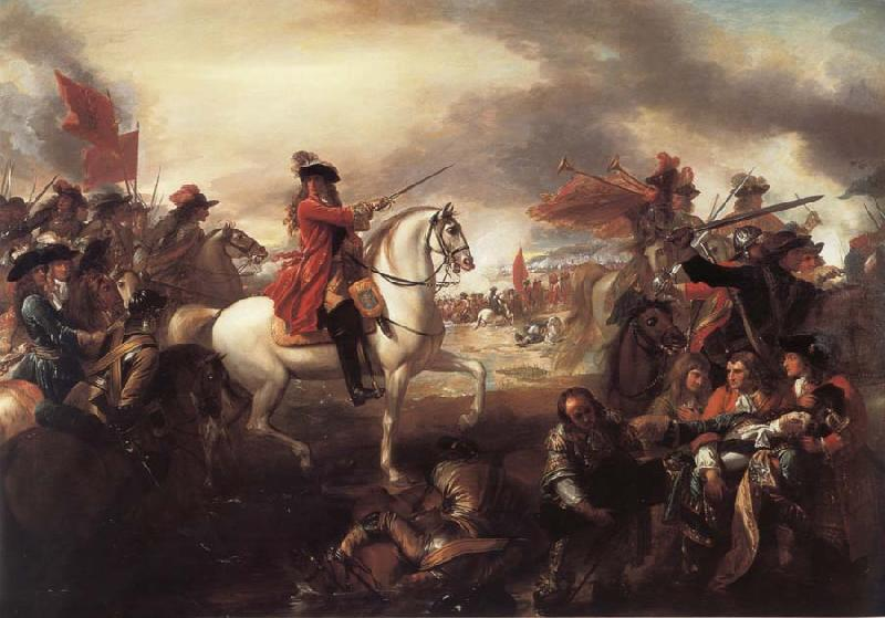 Benjamin West The Battle of the Boyne