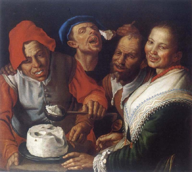 CAMPI, Vincenzo The Ricotta-eaters