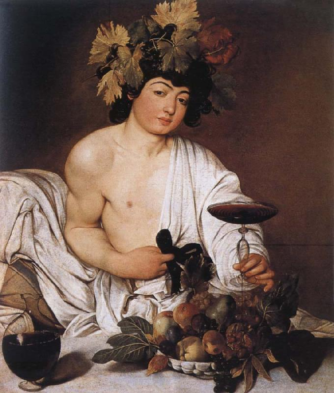 Caravaggio Youthful Bacchus
