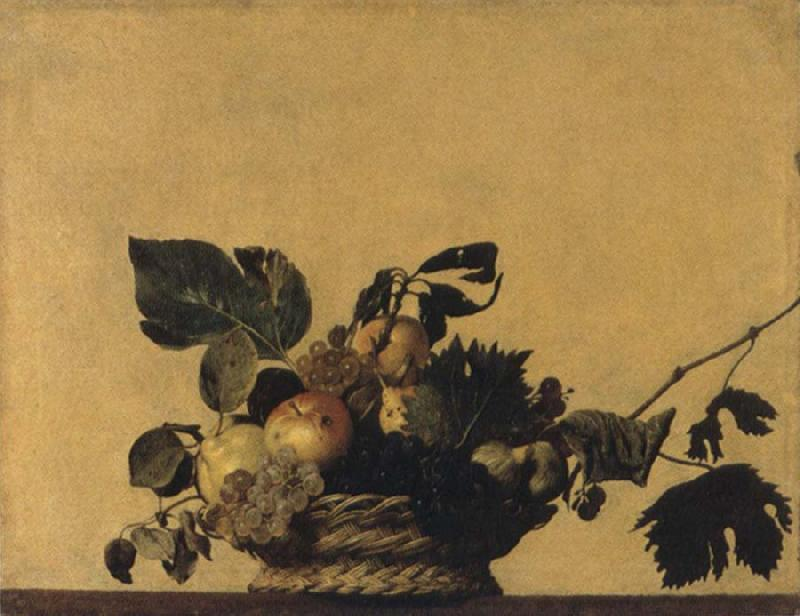 Caravaggio Fruits basket