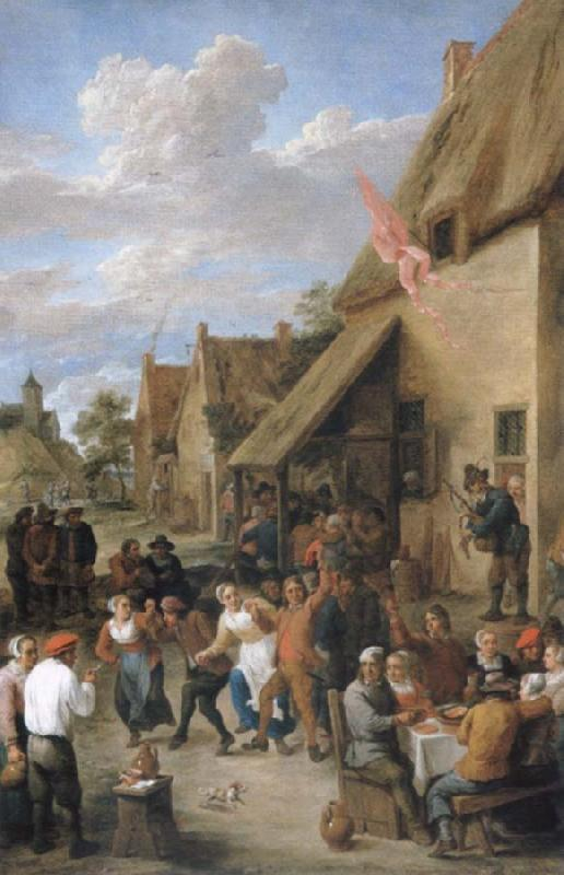 David Teniers wedding scene
