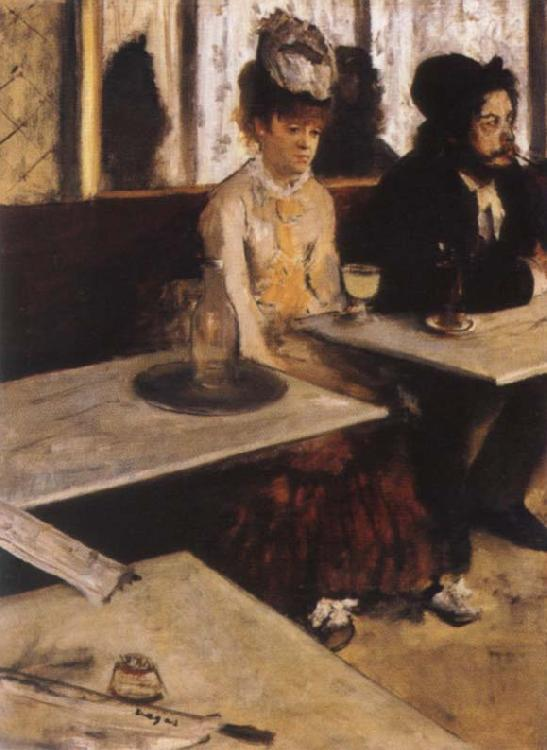 Edgar Degas The Absinth