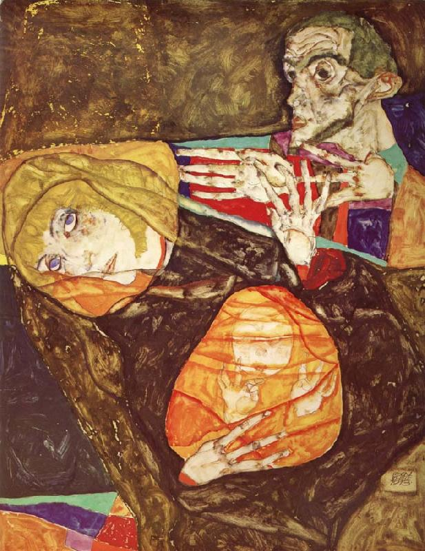 Egon Schiele Holy Family