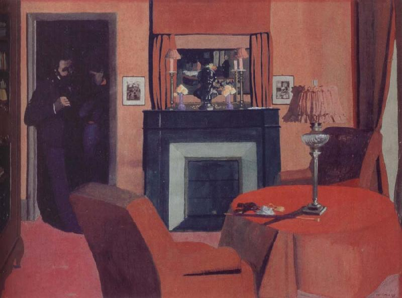 Felix  Vallotton The Red Room