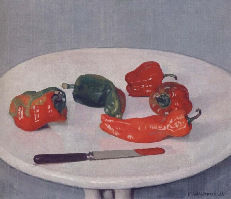 Felix Vallotton Red Peppers