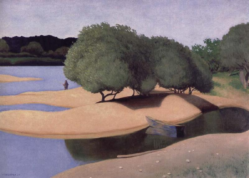 Felix Vallotton Sandbanks on the Lore
