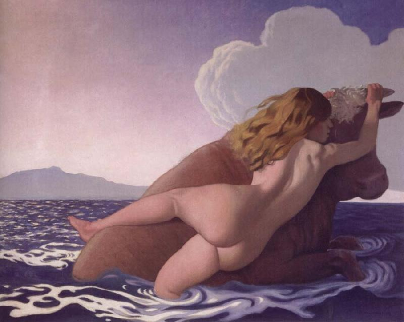 Felix Vallotton The Rape of Europe