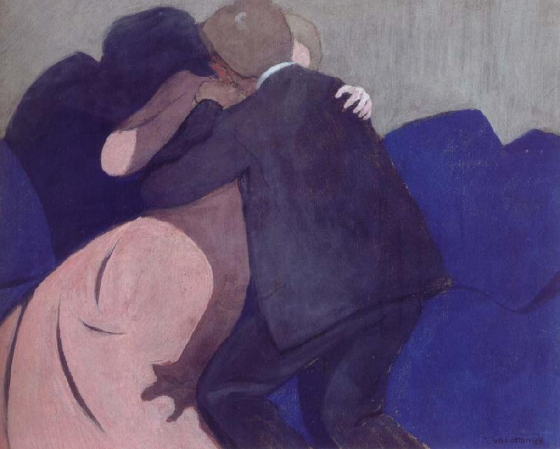 Felix Vallotton The Kiss