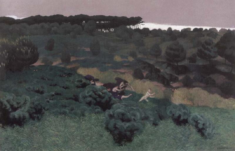 Felix Vallotton Pentheus