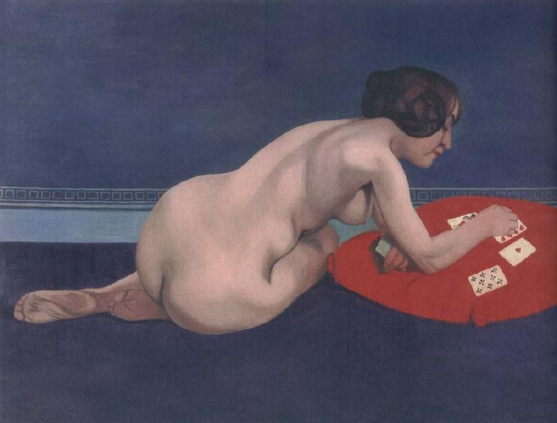 Felix Vallotton Solitaire