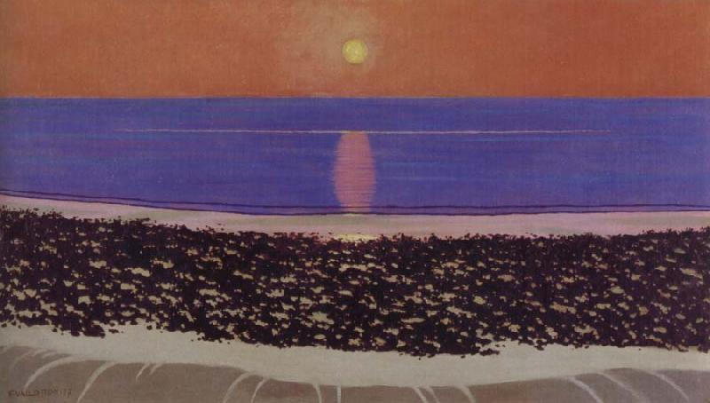 Felix Vallotton Sunset,Villerville